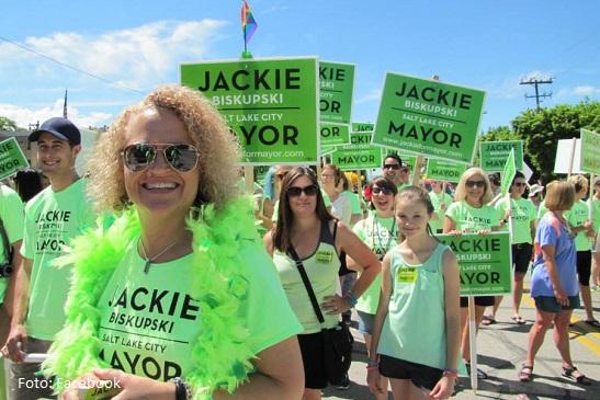 Capital de Utah (EE.UU.) elige alcaldesa declarada abiertamente gay