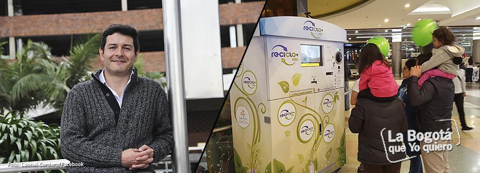 En Bogotá ahora se recicla dentro de los centros comerciales