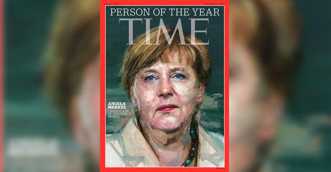 Angela Merkel, el personaje del año según Time
