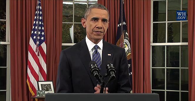 """""""El grito"""" desesperado de Obama desde la Oficina Oval"""