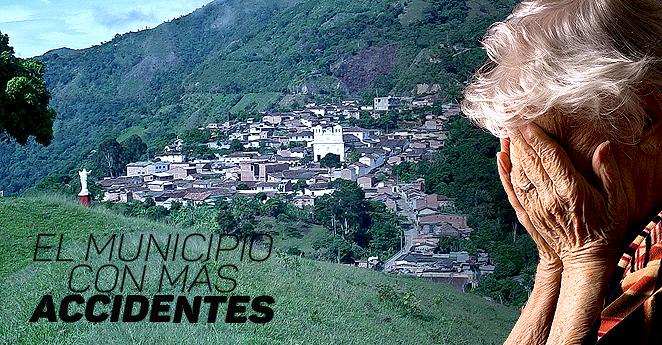 Un día en el pueblo más de malas de Colombia