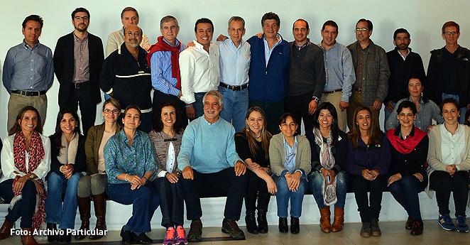 El retiro espiritual de Peñalosa y los suyos