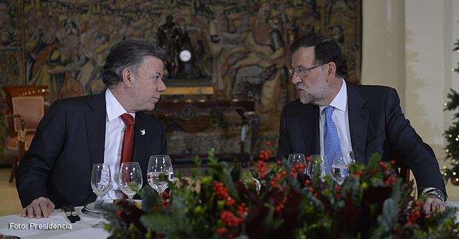 Santos agradece a Rajoy gestiones para supresión de Visa Schengen