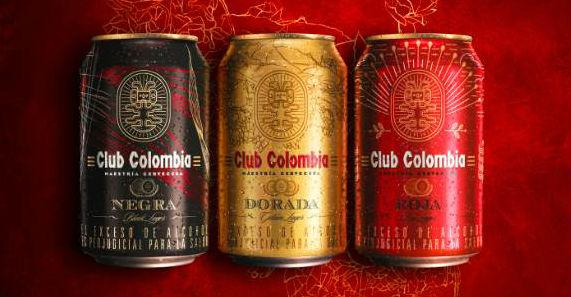 Artistas colombianos diseñaron la nueva imagen de Club Colombia