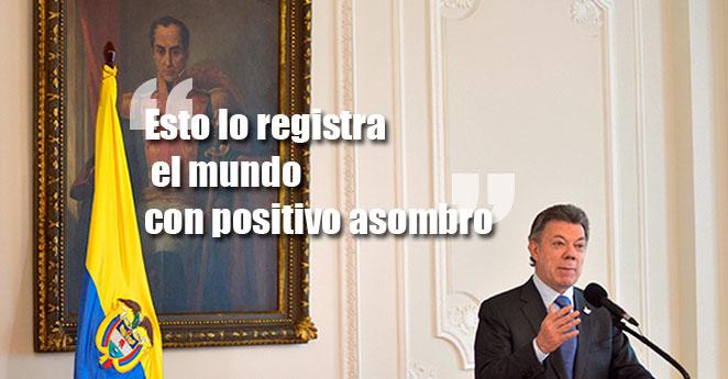 Santos celebra que Farc hayan pedido perdón por masacre de Bojayá