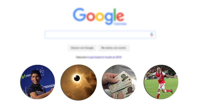 Esto fue lo más buscado en Google durante el 2015 en Colombia