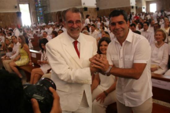 Alejandro Char y Eduardo Vernao de la Rosa