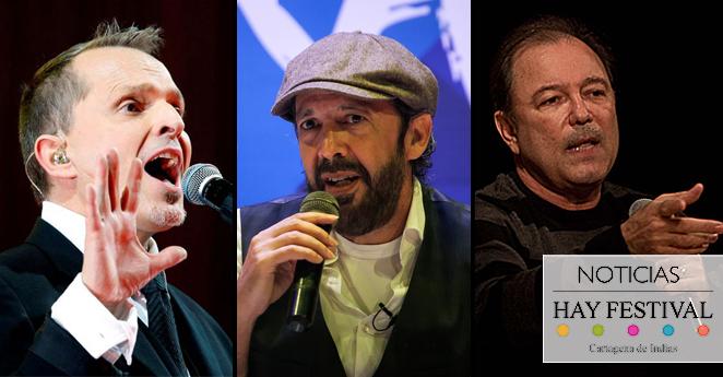 Artistas internacionales que han llegado al Hay Festival