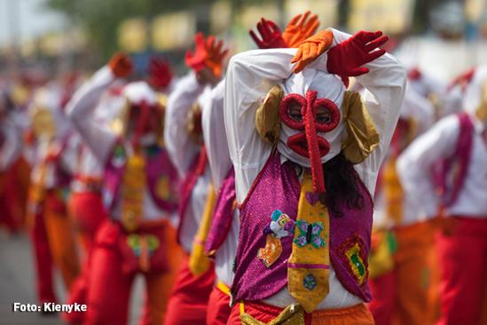 Marimondas del Carnaval de Barranquilla.