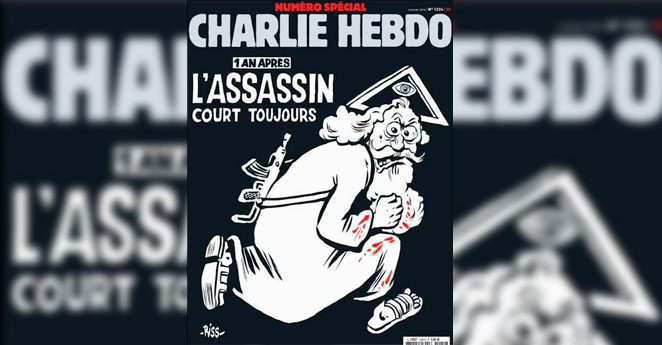Con esta portada Charlie Hebdo reta una vez al fanatismo religioso