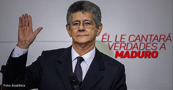 Henry Ramos Allup: el hombre que confronta a Nicolás Maduro