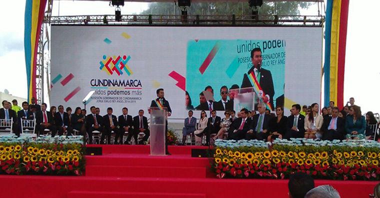 Jorge Rey buscará descentralizar la gobernación de Cundinamcarca