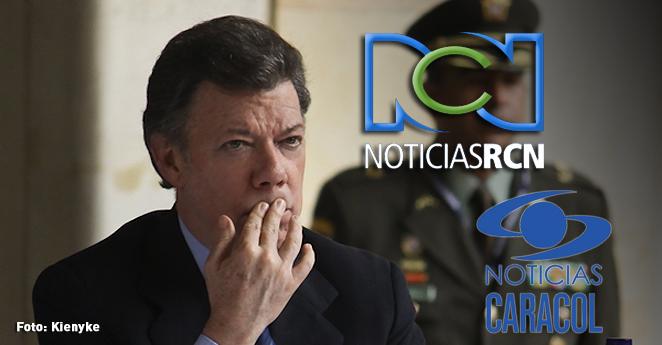 Caracol y RCN rechazan solicitud presidencial