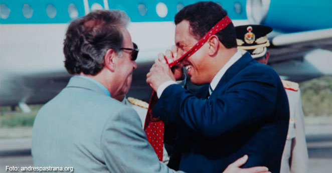 (Video) El día en que Chávez elogió a Pastrana