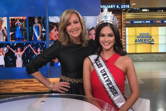 Pia Miss Universo Good Morning America