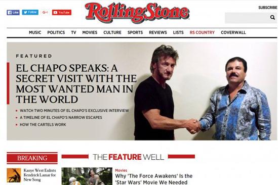 Sean Penn rompió el silencio sobre encuentro con el 'Chapo'