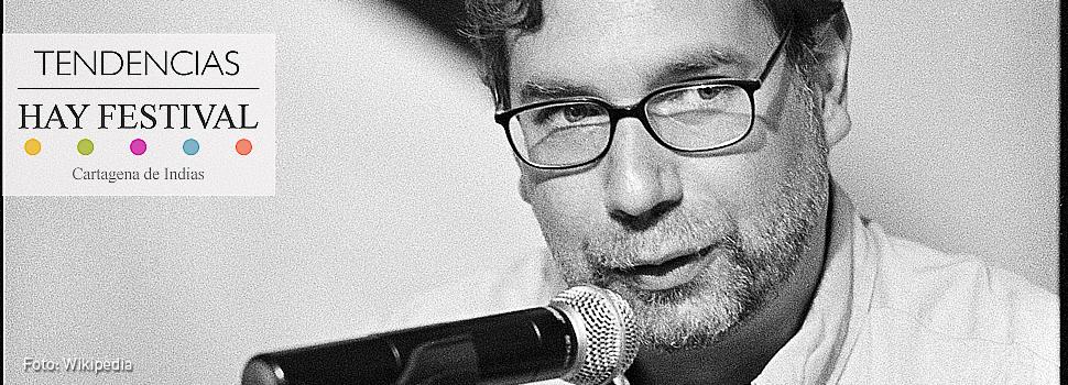 Ramón Cote, uno de los poetas del Hay Festival