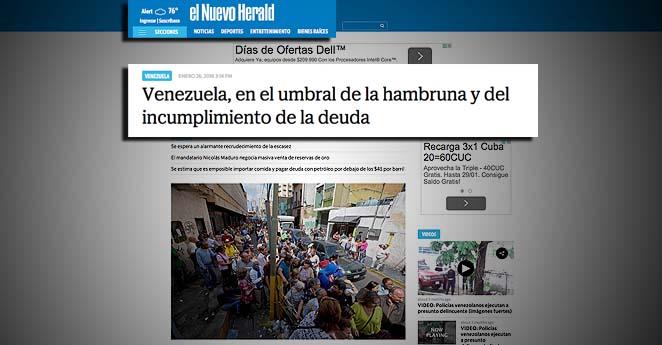 Venezuela toca fondo: venderá su oro