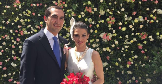 María Paz Gaviria y David Barguil ¡se casaron!