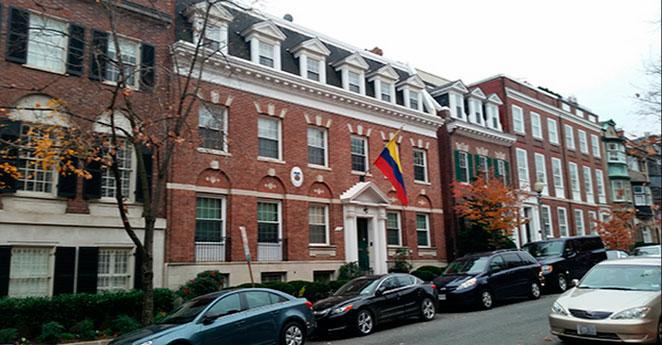 Achiras, el plato fuerte de la inauguración de la embajada de Colombia en EE.UU.