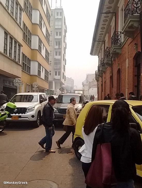 Incendio Forestal Bogota