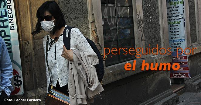 Bogotá pierde aire