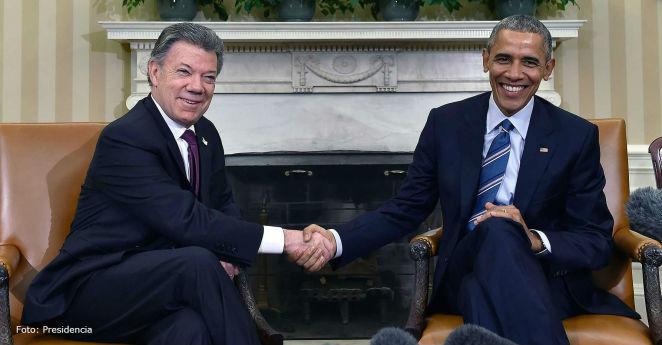 Obama se sube al tren de la paz