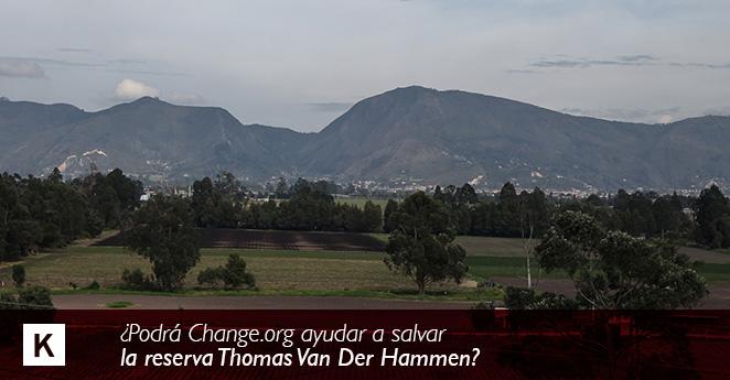 La petición de los colombianos para salvar el medio ambiente