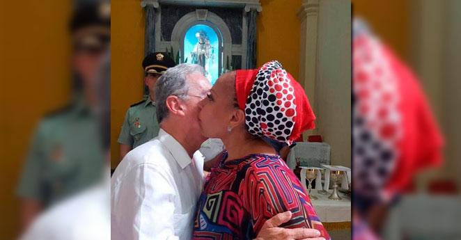 El piropo de Álvaro Uribe a Piedad Córdoba