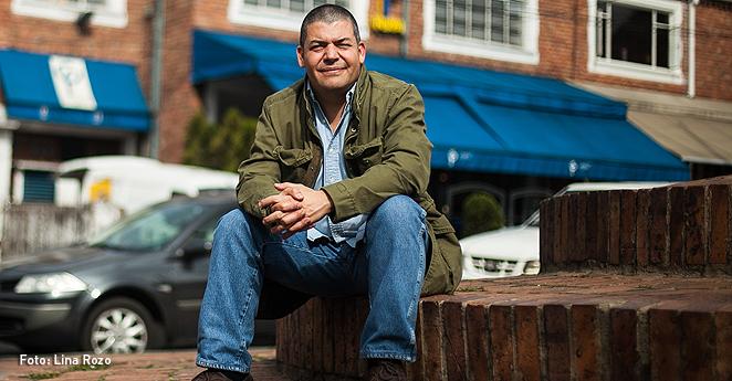 Gustavo Gomez periodista colombiano;Foto:Lina Rozo