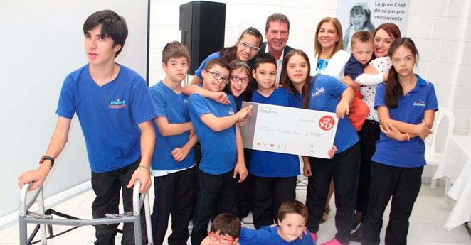Adecco entregó una donación de $41.667 dólares a la Fundación Lupines