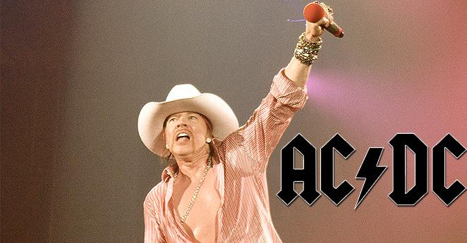 ¿Axl Rose, nuevo cantante de AC/DC?