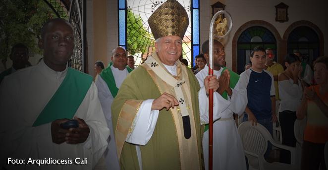 Arzobispo de Cali reprende al presidente Santos por su lenguaje contra el ELN