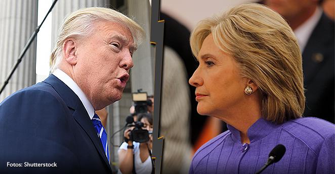 Trump y Hillary Clinton arrasan en las primarias en La Florida
