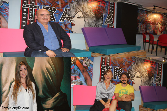 Fernando Gaitan, Ana Maria Gaian,Katherine Velez y Cristian Villamil