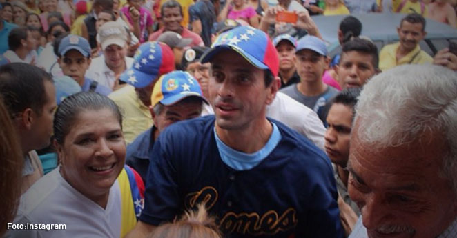 Capriles reconoce que tiene una enfermedad en la piel