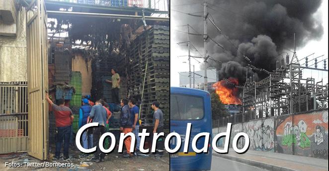 Bomberos controlan incendio en el suroccidente de la ciudad