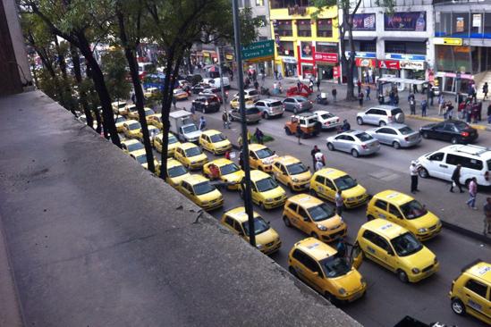 Interior taxistas