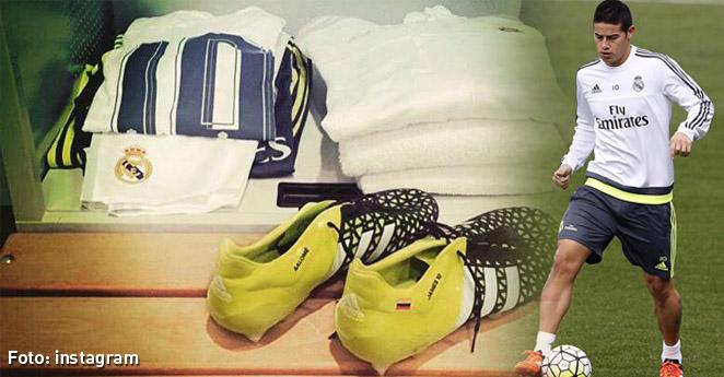 Pese a críticas, James es una mina de oro para el Real Madrid