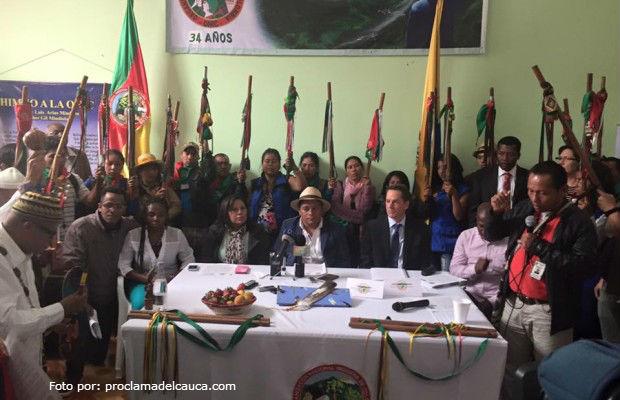 Comisión étnica para la paz viajará a Cuba
