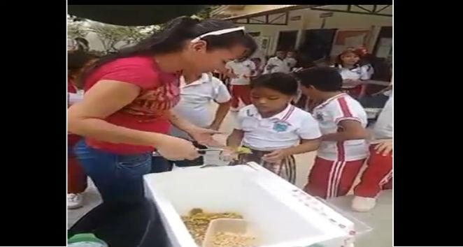 Video sobre falsos refrigerios para niños escandaliza a las redes
