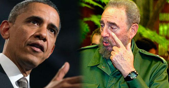 Fidel Castro le bajó la caña a la visita de Obama a Cuba