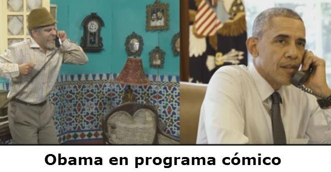 Obama ofrece versión cómica antes de llegar a Cuba