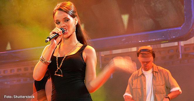 Rihanna es la cantante más escuchada en la app Spotify