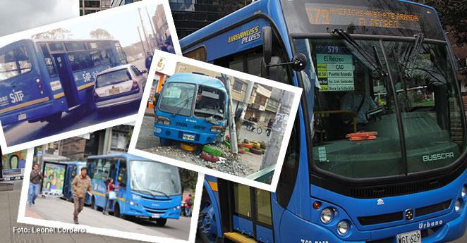 ¿Por qué se estrellan los SITP en Bogotá?