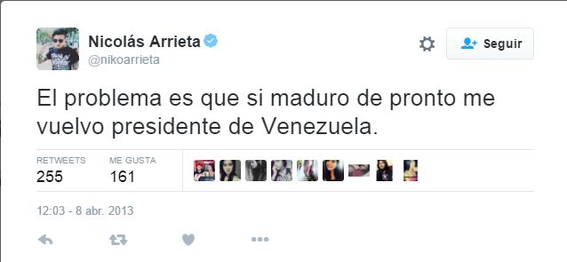 Trino contra Maduro