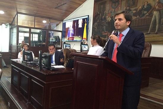 Concejal Andrés Forero