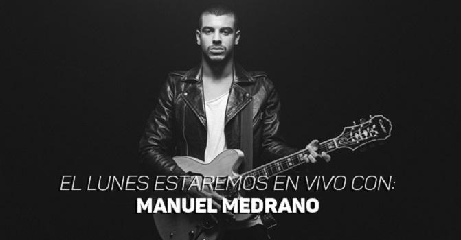 Manuel Medrano estará en vivo el 4 de abril en Kienyke.com