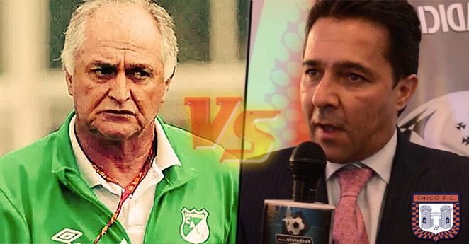 'Pecoso' Castro y presidente del Chicó se habrían ido a los golpes