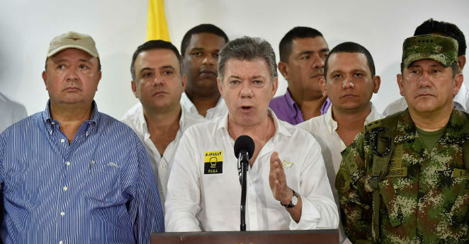 No habrá tratamiento político para clan Úsuga: Santos